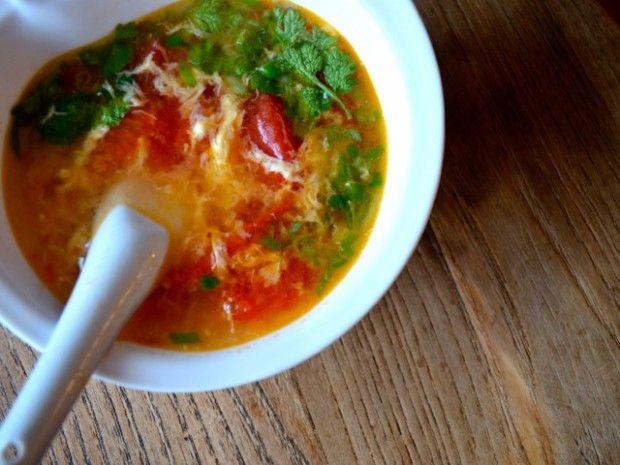 TOMATO EGG DROP SOUP   Soups & Stews   Pinterest