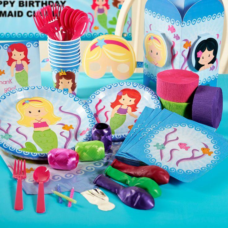 Mermaids Party Packs, 78351
