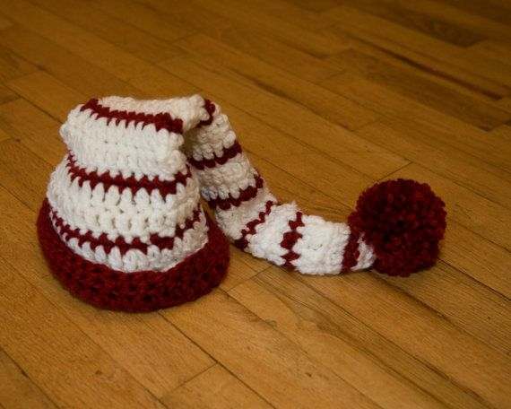 Quick Easy Crochet Baby Hat Pattern : Adult Santa Hat Crochet Pattern with 3 Variations Quick ...