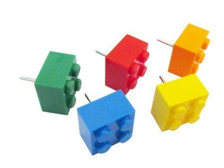Lego Push Pins Tacks | Home Decor And More | Pinterest