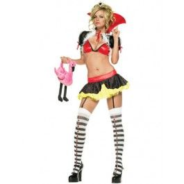 Piece sexy queen of hearts costume http www getiton fancydress co