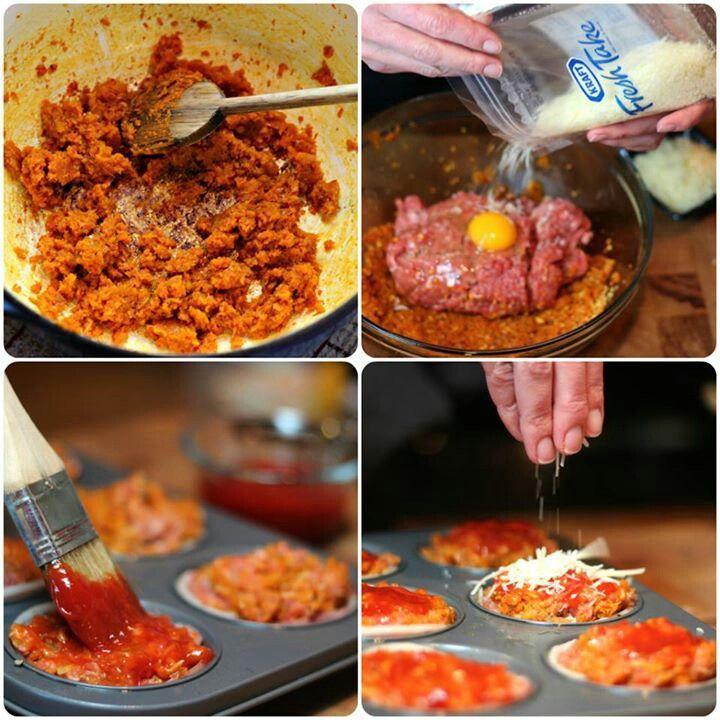 Mini Meatloaf | ≋Bon ♨ Appétité≋ | Pinterest