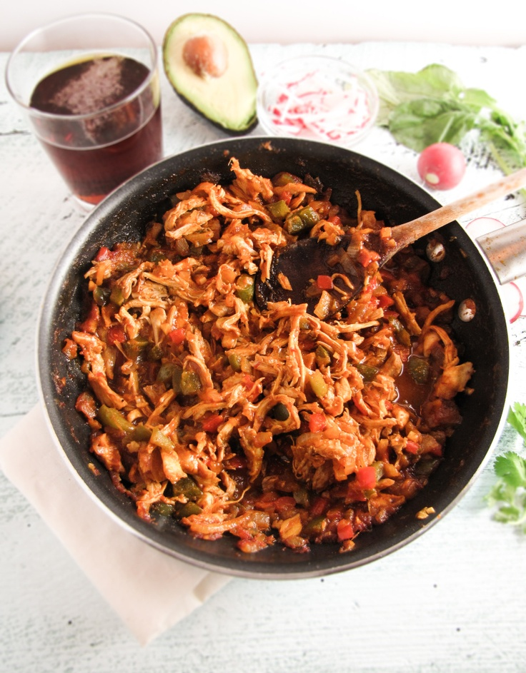Chicken Ropa Vieja | Hungry Girl | Pinterest