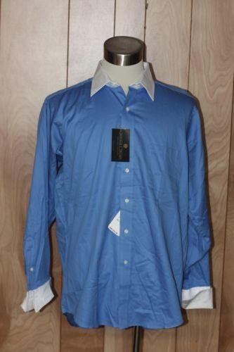 Men's donald j. trump button-down french cuff dress shirt ...