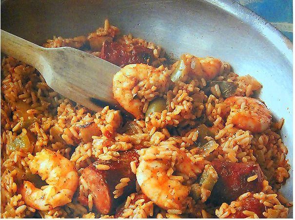 Shrimp & Sausage Jambalaya | Cook! | Pinterest