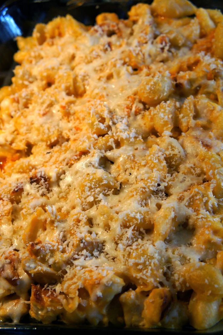 Buffalo Chicken Mac and Cheese | food for thought | Pinterest