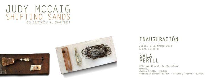 """El jueves 6 de marzo 2014 en Sala Perill, Judy McCaig presenta su expo """"Shifting Sands"""" de joyas y pinturas, haciendo un recorrido por su último trabajo. Os esperamos."""