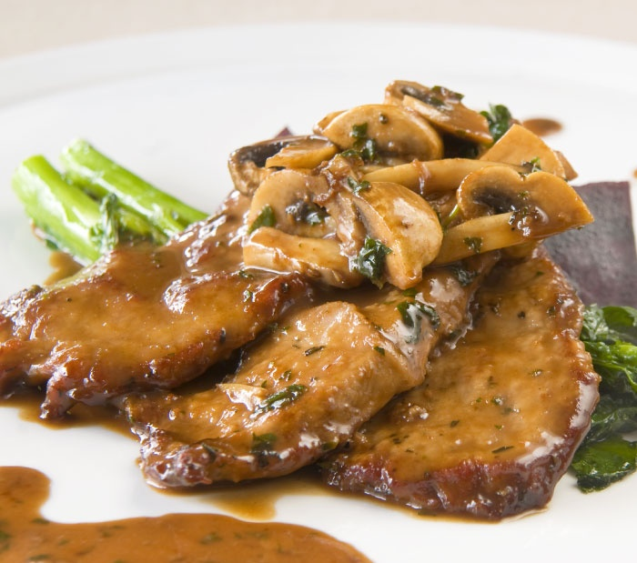 how to cook breaded veal scallopini