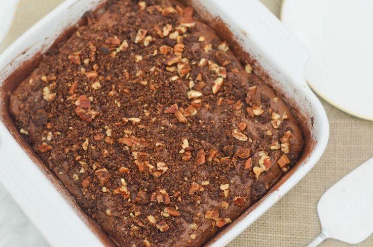 Chocolate Peanut Butter Coffee Cake w. Cinnamon + Cardamom | Luci's ...