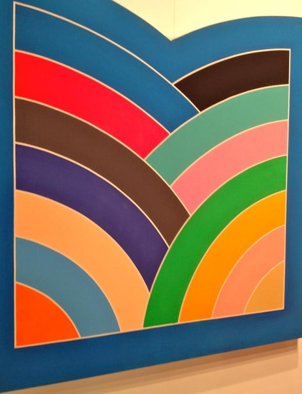 The gallery for frank stella minimalism for Minimal art frank stella