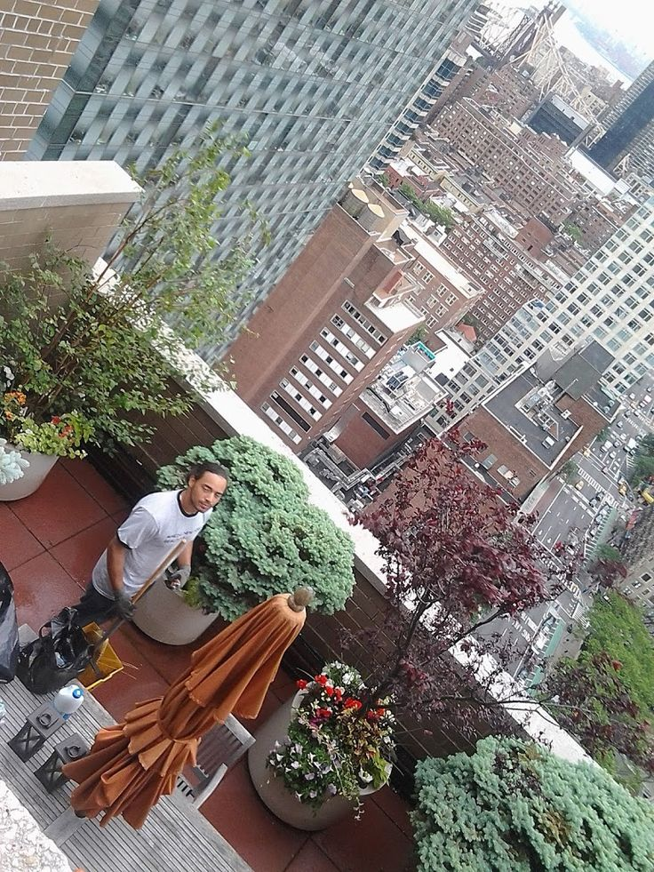 Roof Top Garden Designers New York Rooftop Garden