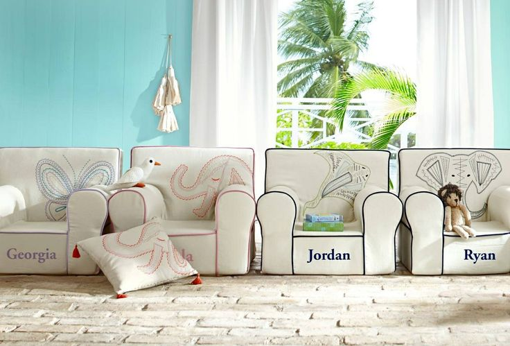 Pottery barn kids chair  Jaxons nursery  Pinterest