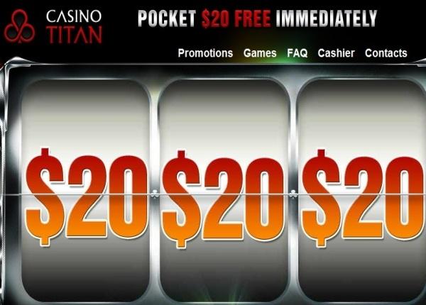 casino titan no deposit codes 2014