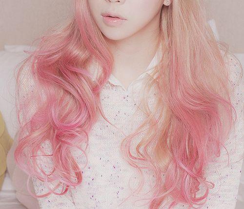cotton candy pink hair pink hair pinterest