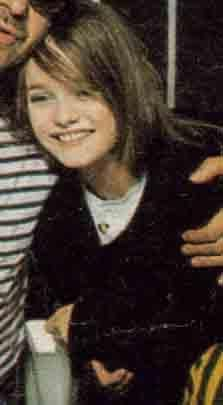 Vanessa Paradis young | ☞ Vanessa Paradis 80's & 90's | Pinterest