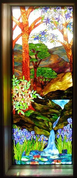 Pin by mary thomas on glass pinterest for Glass waterfall design