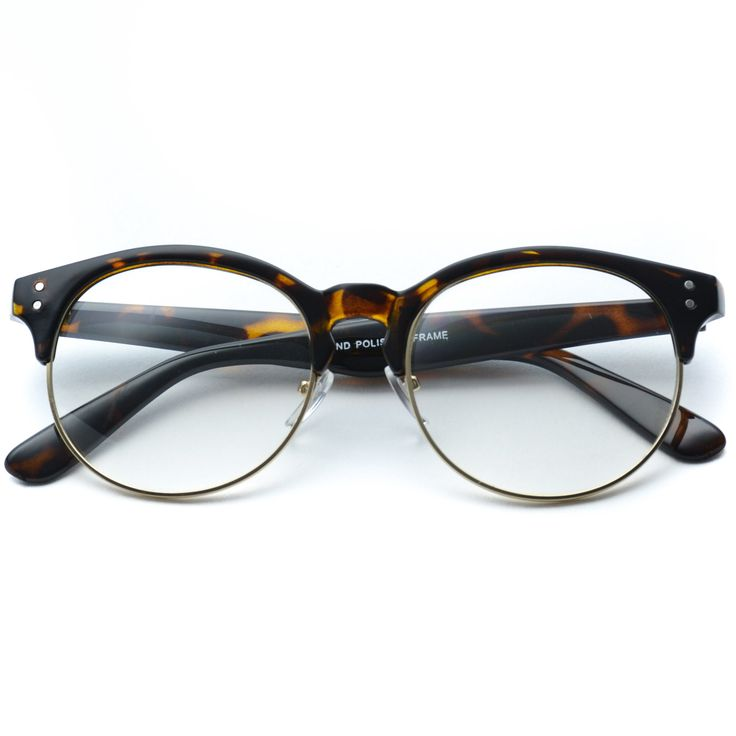 Glazzy simple pattern soft round frames party kids