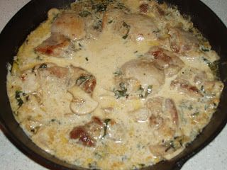 Basil Cream Chicken | recipes | Pinterest