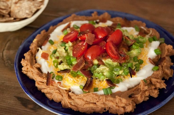 Layer Dip with Bacon