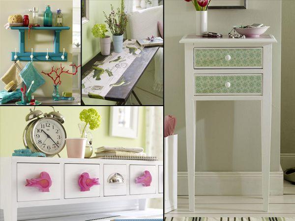 Sichtschutz Holz VerschOnern ~ Badezimmer Verschönern Dekoration  Vintage Möbel zum selbermachen