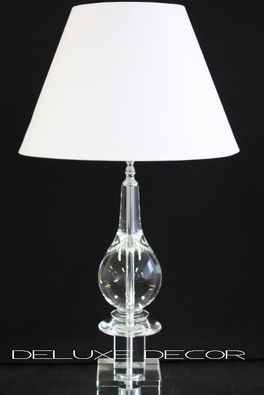 table lamps modern stylish crystal glass table bedside lamp base 9706g. Black Bedroom Furniture Sets. Home Design Ideas