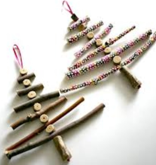 homemade christmas decorations pinterest | just b.CAUSE