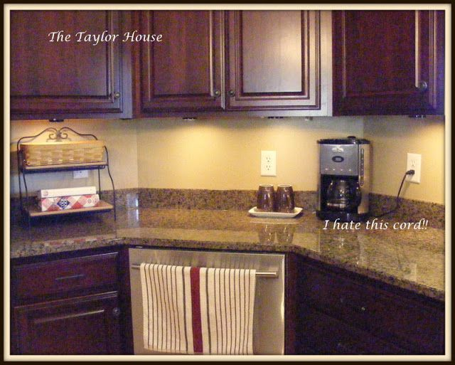 organizing kitchen counters