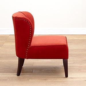 Pinterest - Orange living room chair ...