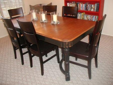 dining room set refinish idea home style pinterest
