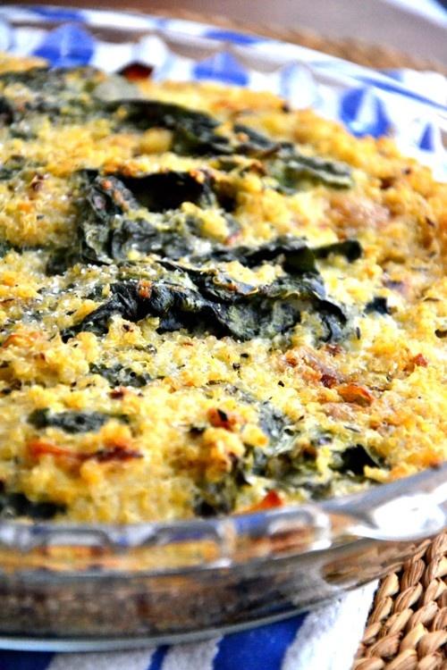 Quinoa Spinach Bake   Foodie   Pinterest