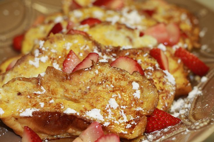 Challah Bread French Toast | Gastronomy | Pinterest