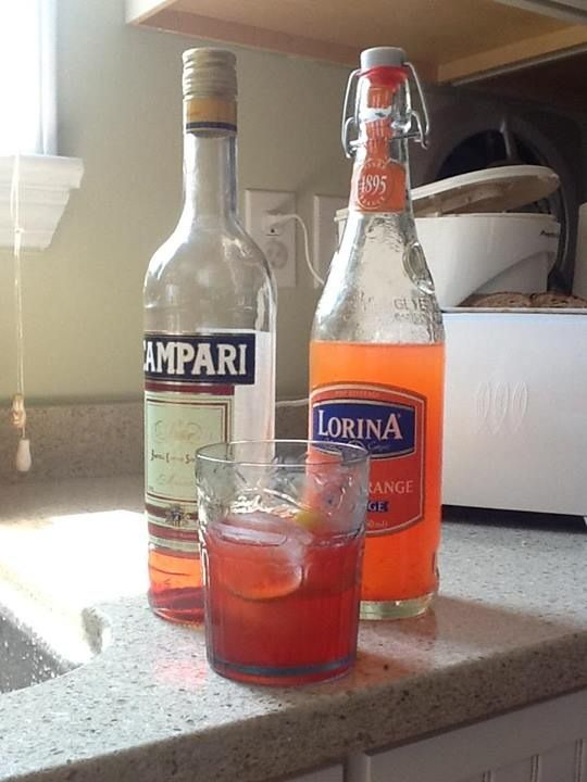 "Campari and soda for the beach | ""Of all the gin joints..."" 