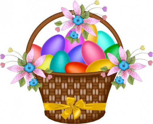 clip art for easter baskets - photo #25