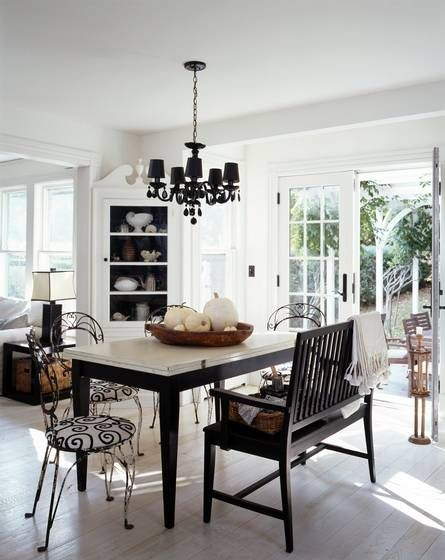 black handle white french doors dream dining rooms