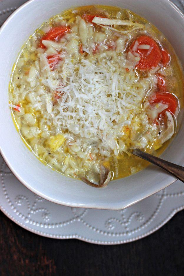 Italian Chicken Soup~ | yummy in my tummy | Pinterest