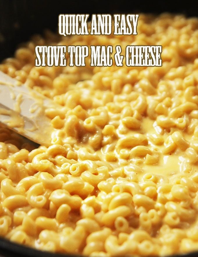 Quick and Easy Mac and Cheese | Dinner Recipes | Pinterest