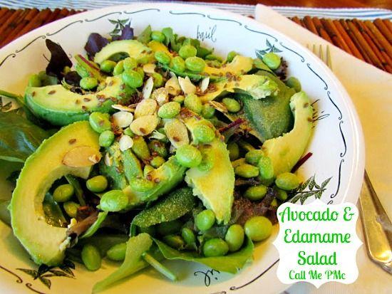 Avocado Edamame Salad | Scrumptious Sides, Salads, Sandwiches, Snacks ...