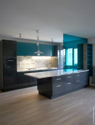 Bleu canard home sweet home pinterest - Decoration bleu canard ...