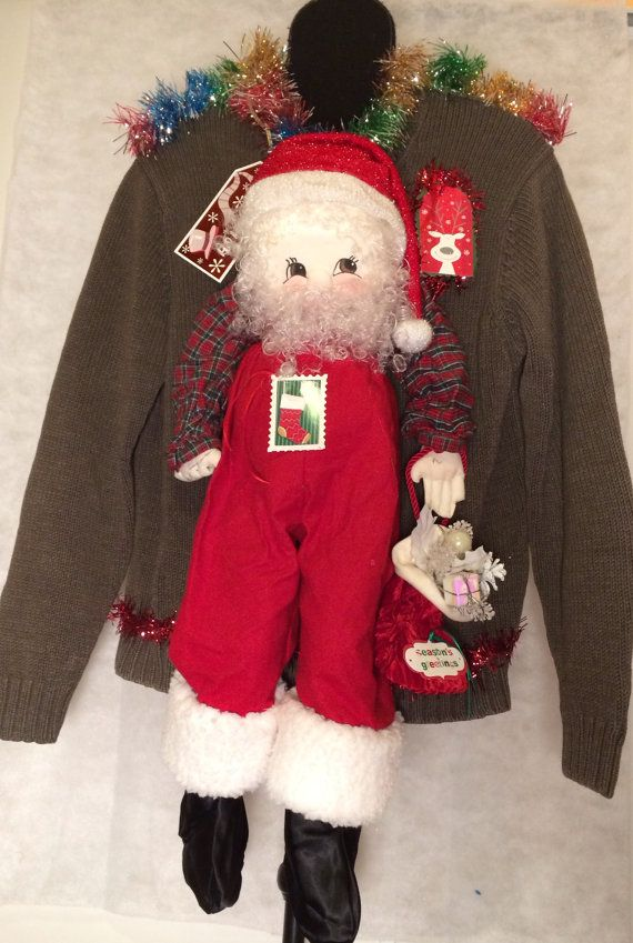 Matching Ugly Christmas Sweater 1 of 2 Mr Clause by stealofadeal, $46