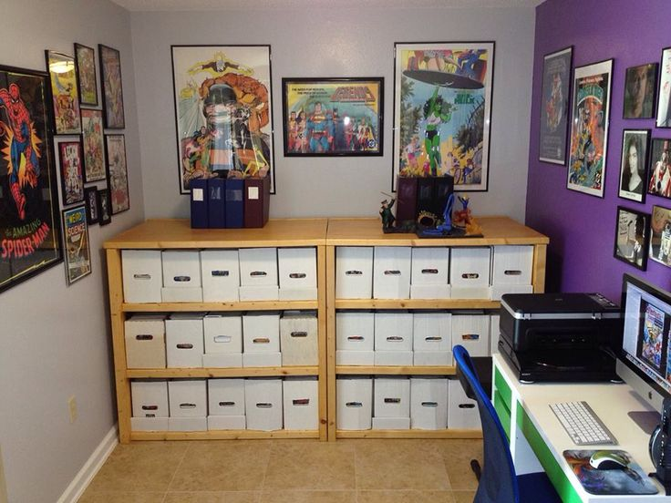 sweet comic book shelves comic book room pinterest