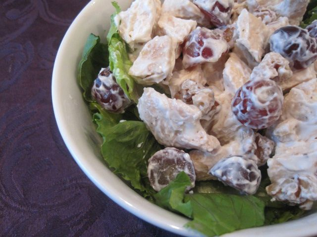 Chicken Salad with Grapes & Walnuts | Recipes | Pinterest