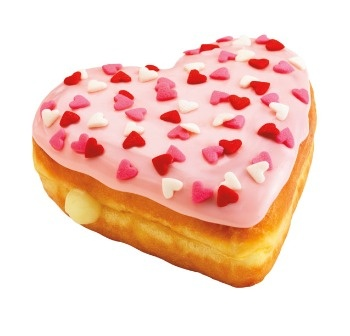 valentine doughnuts | So Nuts for Donuts | Pinterest