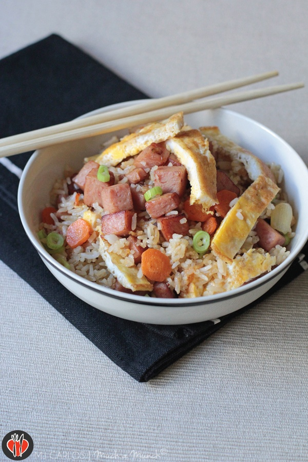 Spam Fried Rice | Asian Food & Recipes | Pinterest