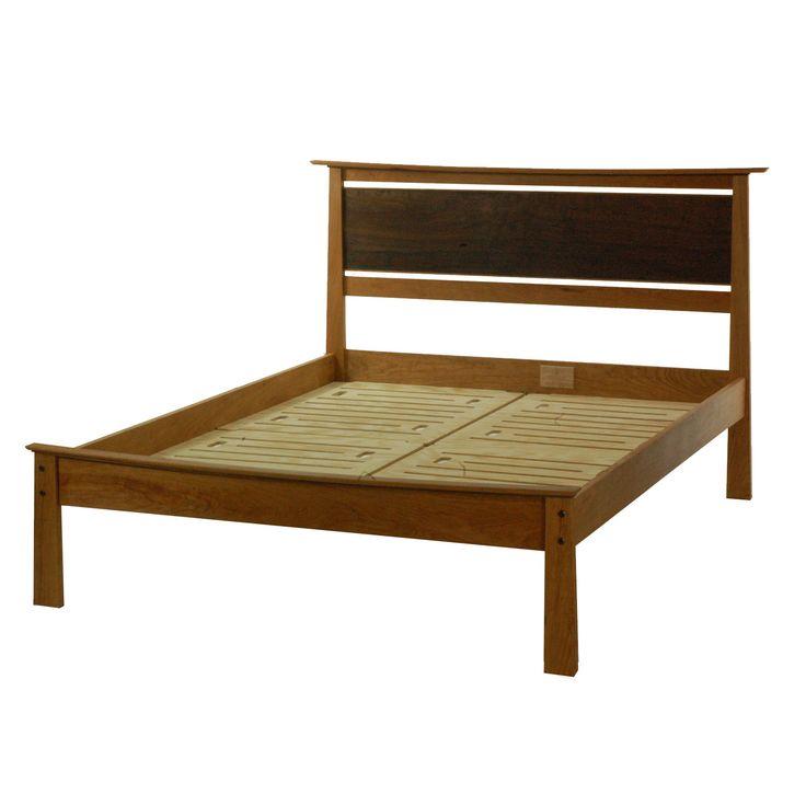 Asian style Platform bed KING Size EnsoII. $1,699.00, via Etsy.