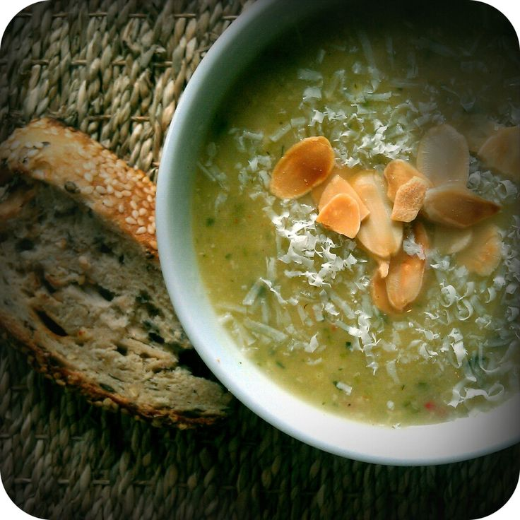 Zucchini, Garlic and Rosemary Soup | Favourite Recipes | Pinterest