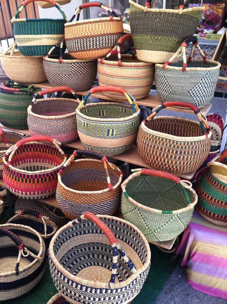 Handmade Baskets From Africa : Pin by mary ayala on baskets