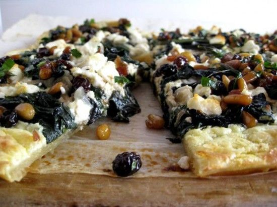 Suzanne Goin's Swiss Chard Tart vegetarian recipe | My Best Days Ever