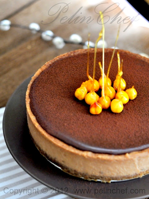chocolate hazelnut cheesecake | Sweets Box | Pinterest