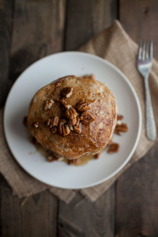 Brown Butter and Pecan Pancakes | Recipe