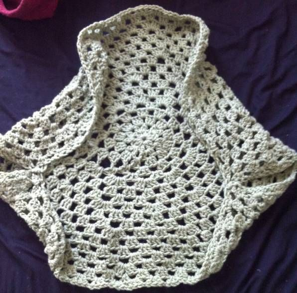 Easy Free crochet circle shrug pattern Crochet ...